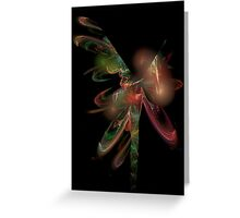 Africa Flame Greeting Card