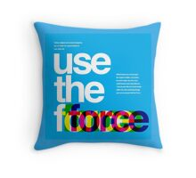 Star Wars: Use the Force Throw Pillow