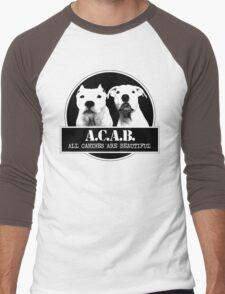 ACAB Men's Baseball ¾ T-Shirt