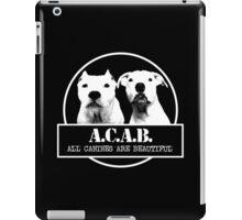ACAB iPad Case/Skin