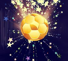 Stars Explosions and Soccer Ball 3 by AnnArtshock