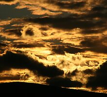 Clouds aflame at Sunset by Steiner62