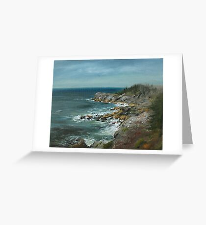 Seagull's View Greeting Card
