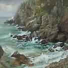 Quaddie Cliffs by Kathy Cooper