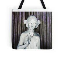 Nymph of the Fields - Oil Painting Tote Bag
