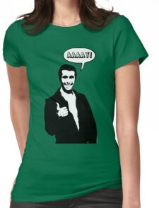 Happy Days Fonzie T-Shirt Womens Fitted T-Shirt