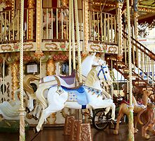 Colorful carousel by daffodil