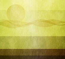 Ducks: Blank2: Warm Gold by Steven House