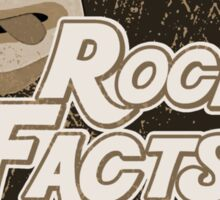 rock facts Sticker
