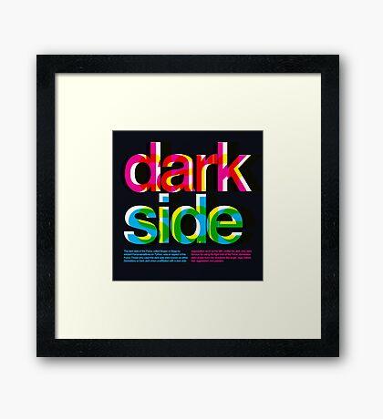 Star Wars: Dark Side Framed Print