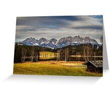 Mountain View, Austria Greeting Card