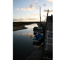 Sunrise at Blakeney Harbour 2 Photographic Print