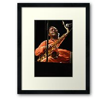 Pee Wee enjoy Framed Print