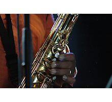 jazz fingers Photographic Print