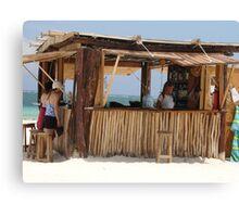 Ixchel Beach Bar Canvas Print