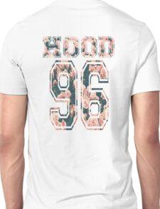 Hood ,96-Floral Unisex T-Shirt