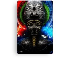Osiris, Ausar...Egyptian God of the Afterlife Canvas Print