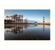 North Carolina Bodie Island Lighthouse Cape Hatteras National Seashore Art Print