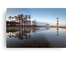 North Carolina Bodie Island Lighthouse Cape Hatteras National Seashore Metal Print