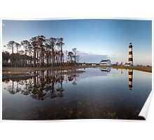 North Carolina Bodie Island Lighthouse Cape Hatteras National Seashore Poster