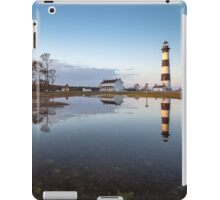 North Carolina Bodie Island Lighthouse Cape Hatteras National Seashore iPad Case/Skin