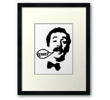 Fawlty Towers Manuel Que T-Shirt Framed Print