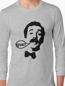 Fawlty Towers Manuel Que T-Shirt Long Sleeve T-Shirt