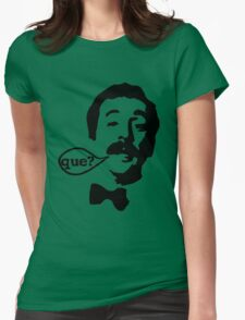 Fawlty Towers Manuel Que T-Shirt Womens Fitted T-Shirt