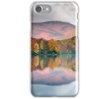 Grandfather Mountain Price Lake Autumn Reflections Blue Ridge Parkway iPhone Case/Skin