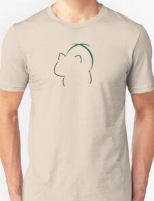 Bulbasaur Silhouette Black T-Shirt