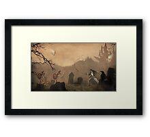 Land Sorrow Framed Print