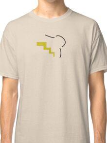 Pikachu Silhouette Black Classic T-Shirt