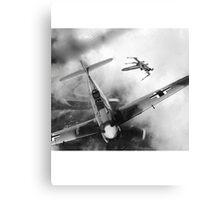 BF109 vs X Wing Canvas Print