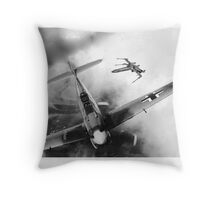BF109 vs X Wing Throw Pillow