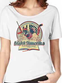 Blakk Amerika - From Prophets to Pimps Women's Relaxed Fit T-Shirt