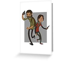 """""""THE LAST OF US""""  Greeting Card"""