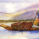 Lake Burma Fisherwoman by Randy Sprout