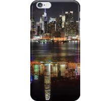 New York vs Hong Kong at night iPhone Case/Skin
