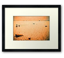 red sea impressions #1 Framed Print