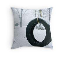 Summer swing Throw Pillow