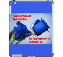 For Those Who Serve iPad Case/Skin