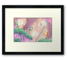 Fleecy Dream Framed Print
