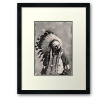 Chief Riley Framed Print