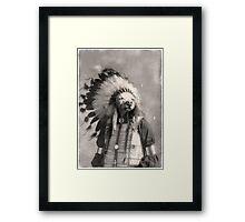 Chief Riley Framed Print