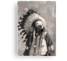 Chief Riley Canvas Print