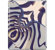 Zebrah Dreams by Elisabeth and Barry King™ iPad Case/Skin
