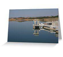 Reflections upon a water mirror Greeting Card