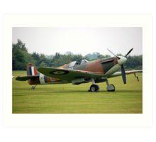 Spitfire Mk1 Art Print