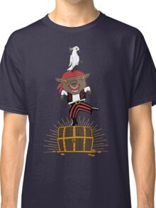 Pirate Happy Dance with Parrot Classic T-Shirt