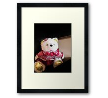 My Teddy Bear Framed Print